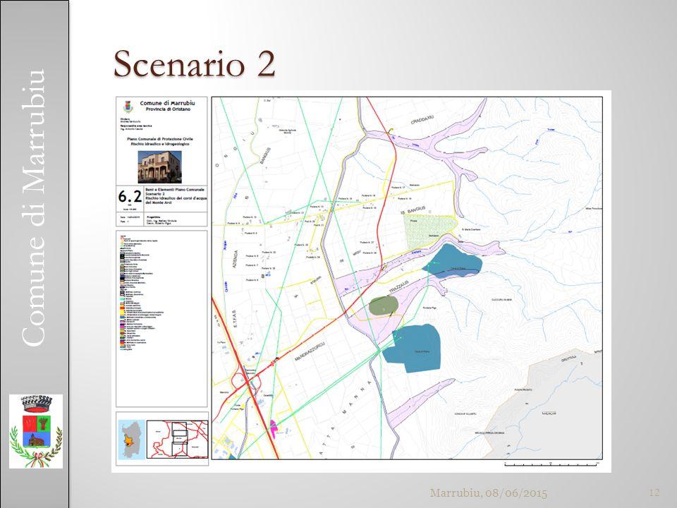 Comune di Marrubiu Scenario 2 Marrubiu, 08/06/201512