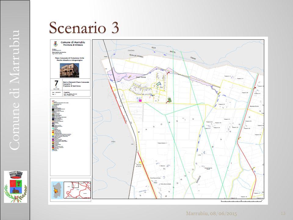 Comune di Marrubiu Scenario 3 Marrubiu, 08/06/201513