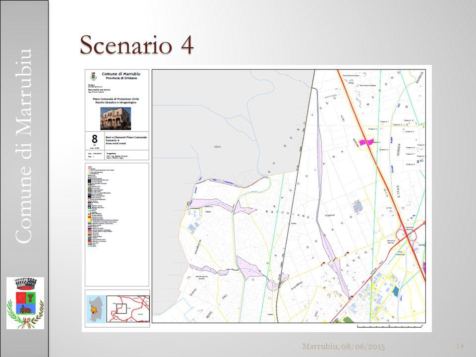 Comune di Marrubiu Scenario 4 Marrubiu, 08/06/201514