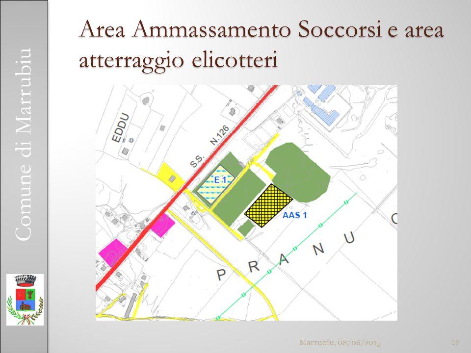 Comune di Marrubiu Area Ammassamento Soccorsi e area atterraggio elicotteri Marrubiu, 08/06/201519