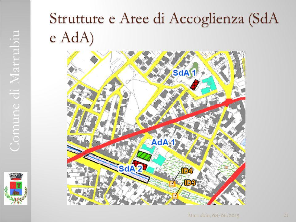 Comune di Marrubiu Strutture e Aree di Accoglienza (SdA e AdA) Marrubiu, 08/06/201521