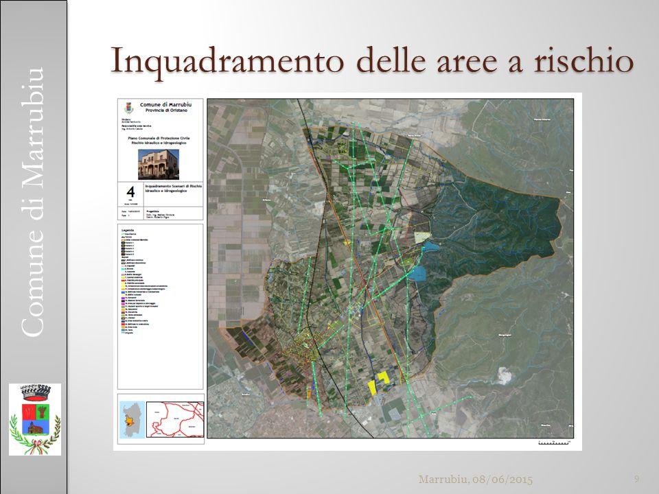 Comune di Marrubiu Inquadramento delle aree a rischio 9Marrubiu, 08/06/2015