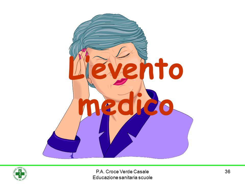 36 L'evento medico P.A. Croce Verde Casale Educazione sanitaria scuole