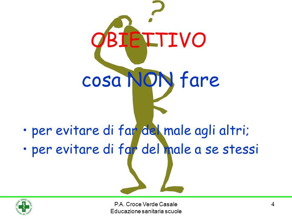 15 8° COMANDAMENTO ALLONTANATEVI IN CASO DI INCIDENTE STRADALE P.A.