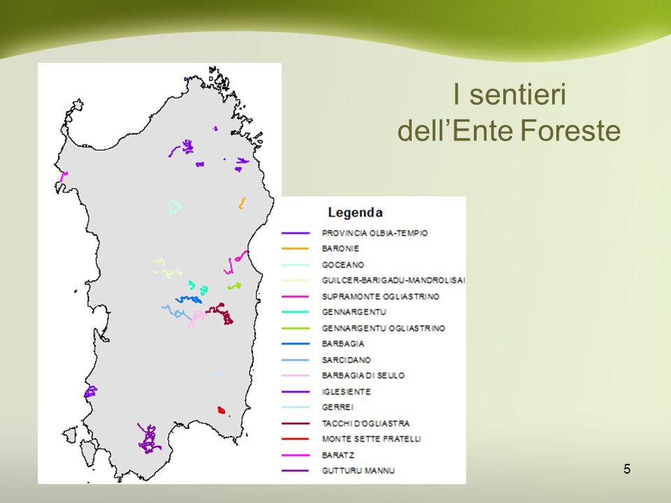 Le dorsali regionali 16