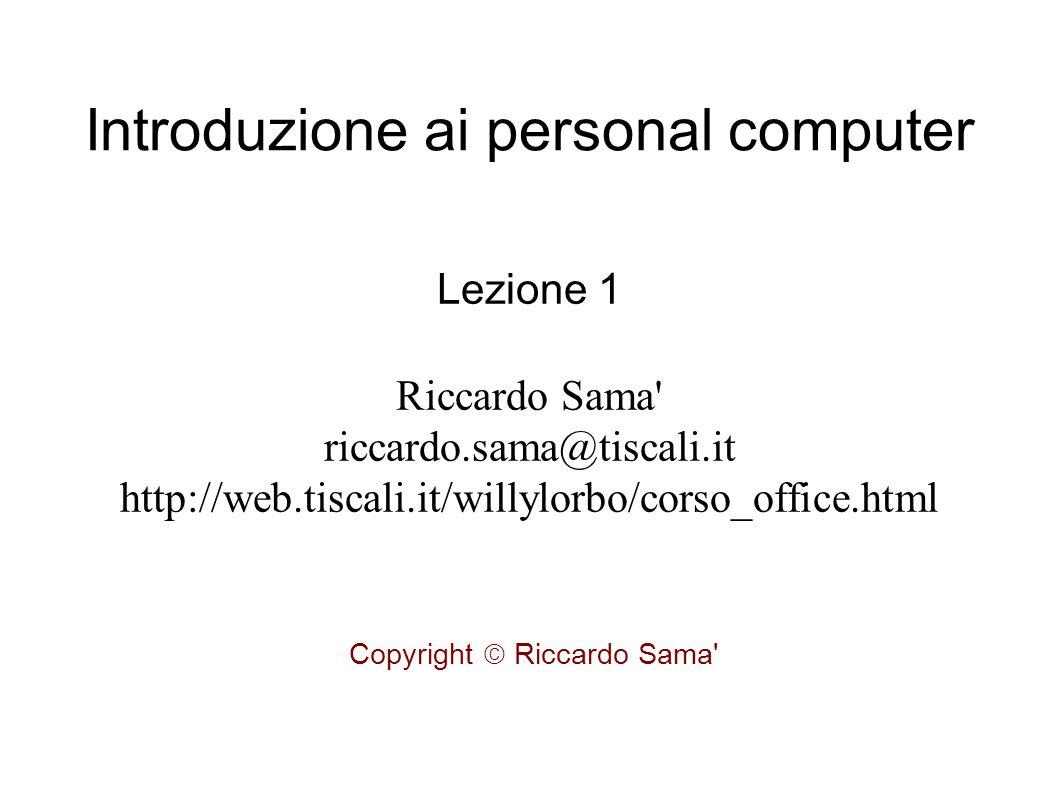 Il sistema operativo ● E il software centrale di tutto il sistema.