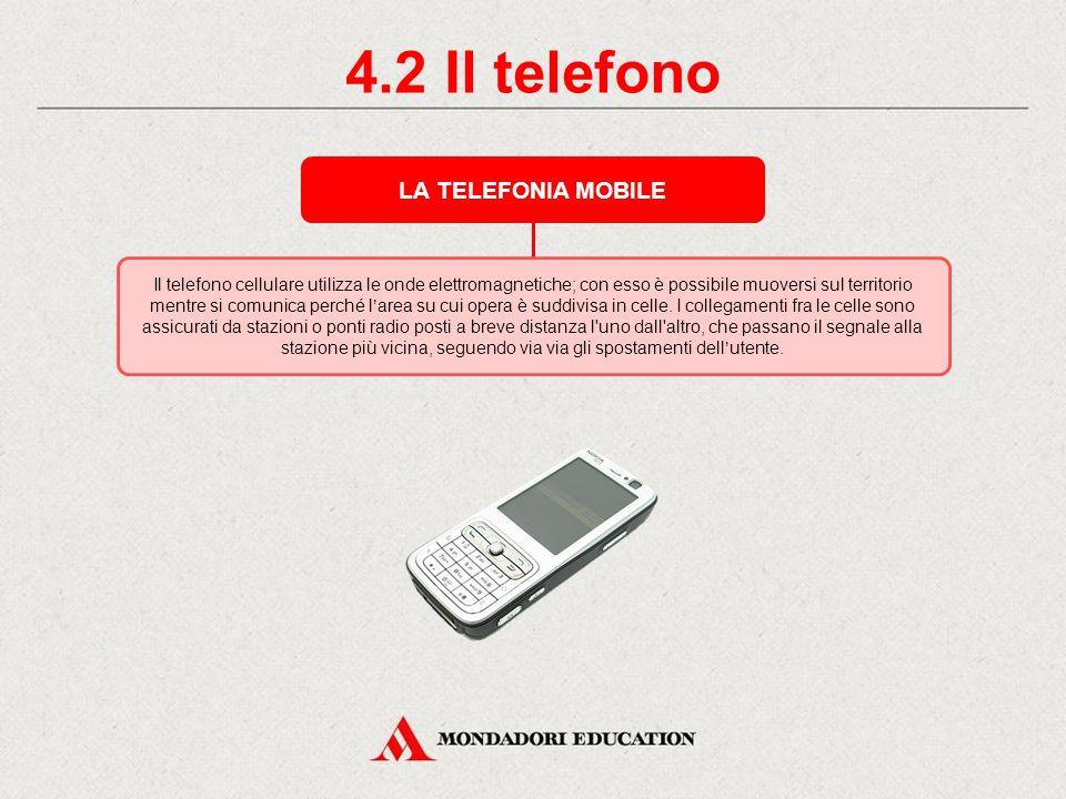 4.1 Il telefono LE RETI TELEFONICHE Inizialmente ogni apparecchio è collegato per mezzo di conduttori ai telefoni di tutti gli utenti.