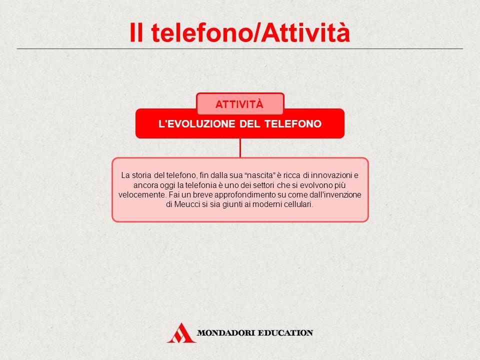 4.2 Il telefono LA TELEFONIA MOBILE Il telefono cellulare utilizza le onde elettromagnetiche; con esso è possibile muoversi sul territorio mentre si comunica perché l'area su cui opera è suddivisa in celle.