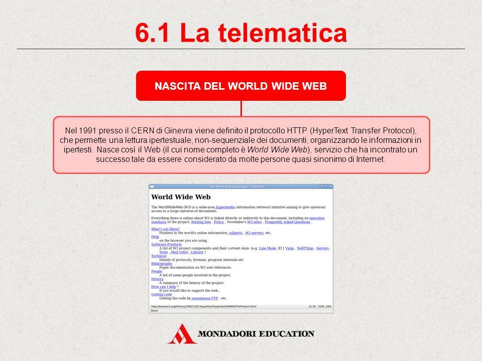 6. La telematica CHE COS'È INTERNET Internet (interconnected networks) è una rete mondiale di reti di computer ad accesso pubblico; è un interconnessi