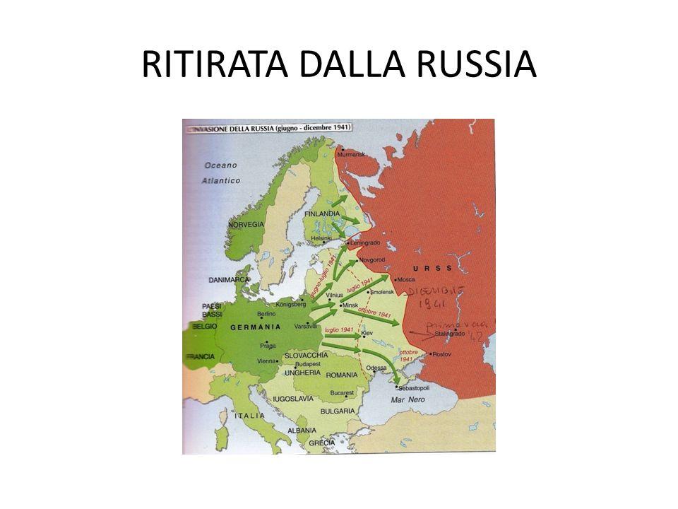 La Germania è accerchiata da Ovest e da Est.