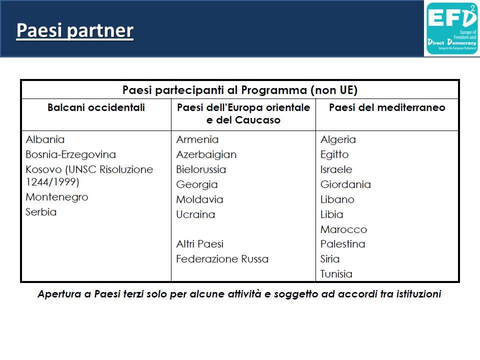 Paesi partner