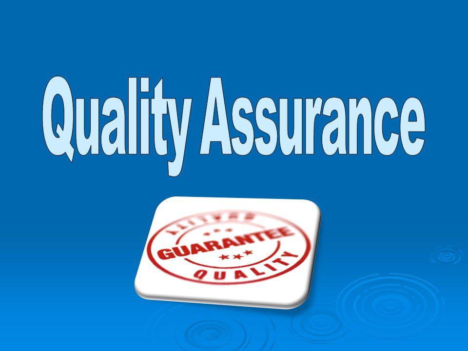 Cos'è la Quality Assurance.
