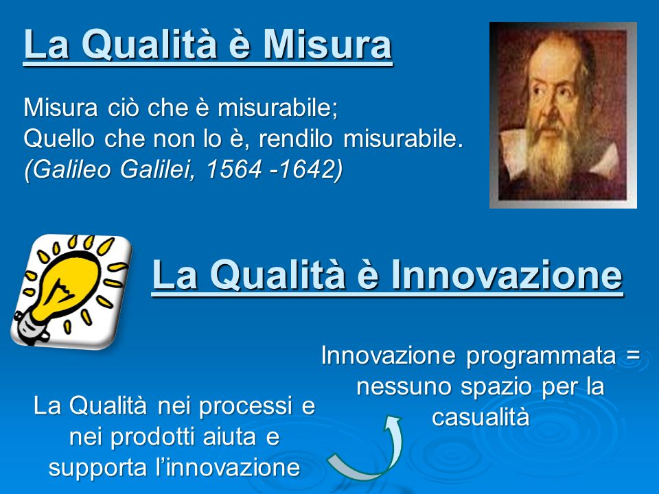 Quality Assurance Quality Assurance Metodologia in 4 fasi PROGETTAZIONEPLAN SVILUPPO DO VALUTAZIONE CHECKREVISIONEACT