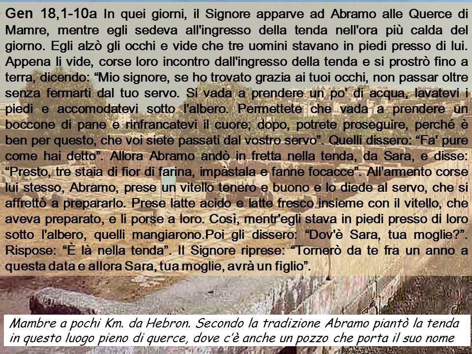 Anno C Domenica XVI 22 luglio 2007 Suor Marie Keyrouz, canta la bellezza della Dimora Pasquale, secondo la liturgia Bizantina
