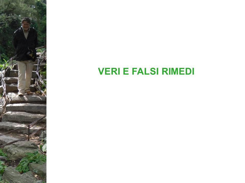 VERI E FALSI RIMEDI