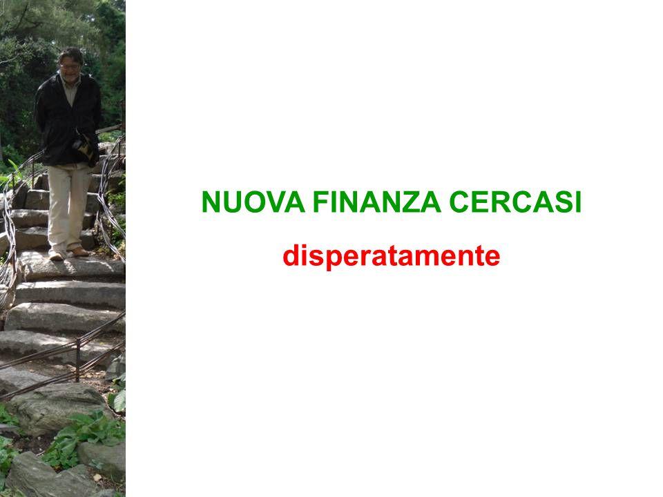 La finanza distrettuale è stata caratterizzata da.
