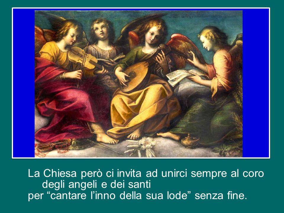"""Certamente quando sentiamo cantare """"Santo, santo, santo…"""" la nostra mente ci trasporta al cuore della liturgia eucaristica e ci predispone a partecipa"""