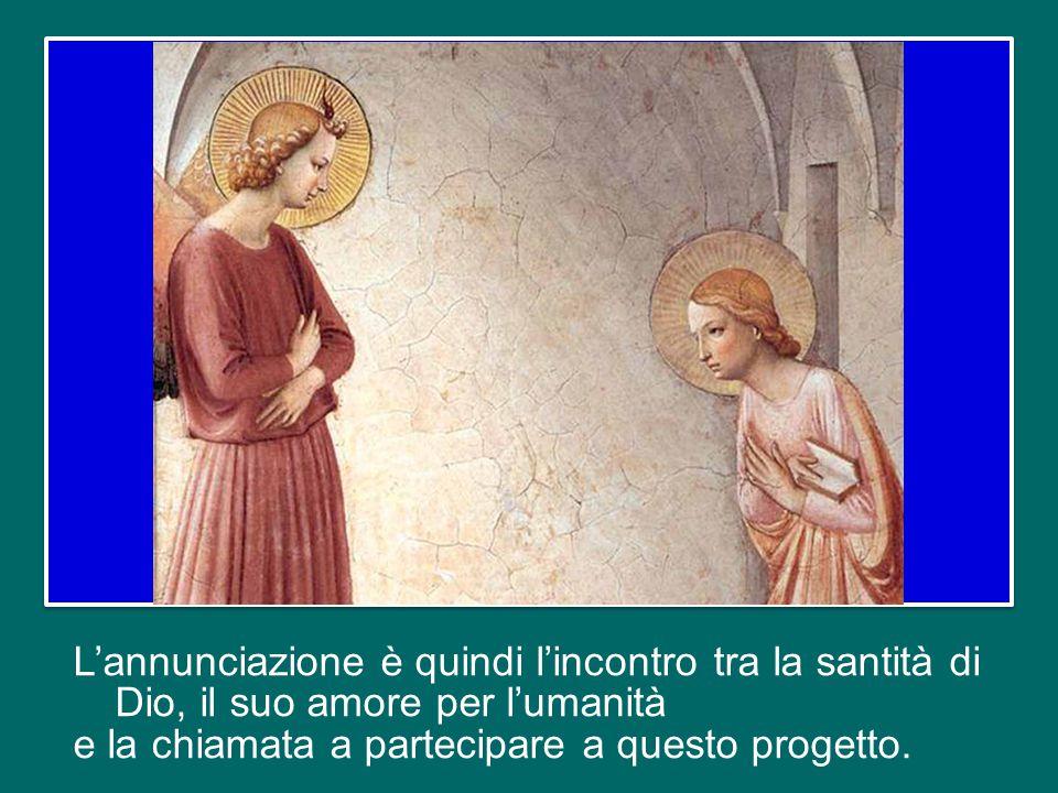 Anche la Vergine Maria ha imparato ad aprire il suo cuore a Dio nel raccoglimento della sua casa e la sua vita è diventata piena della presenza di Dio