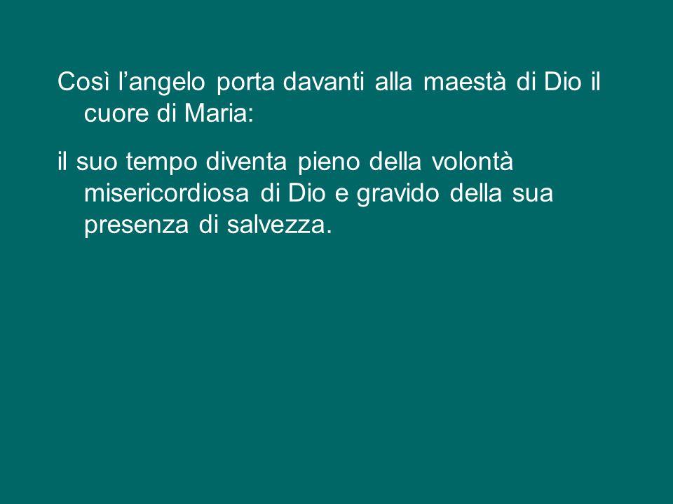 """""""Ecco la serva del Signore: avvenga per me secondo la tua parola"""", risponde Maria e da quel momento Dio si unisce alla nostra umanità e ogni creatura"""