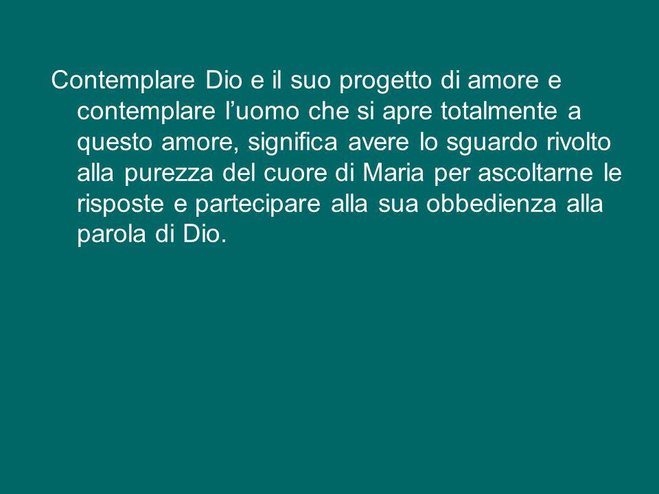 Poter anche noi pronunciare la preghiera dell'Angelus avanti all'Annunciazione del Beato Angelico, ci dispone a guardare il cuore di Maria nel dialogo