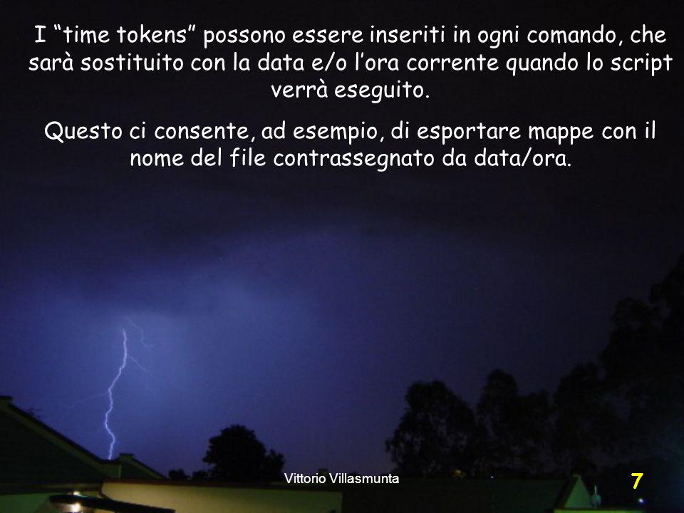 Vittorio Villasmunta 28 Specifichiamo i minuti o le ore…