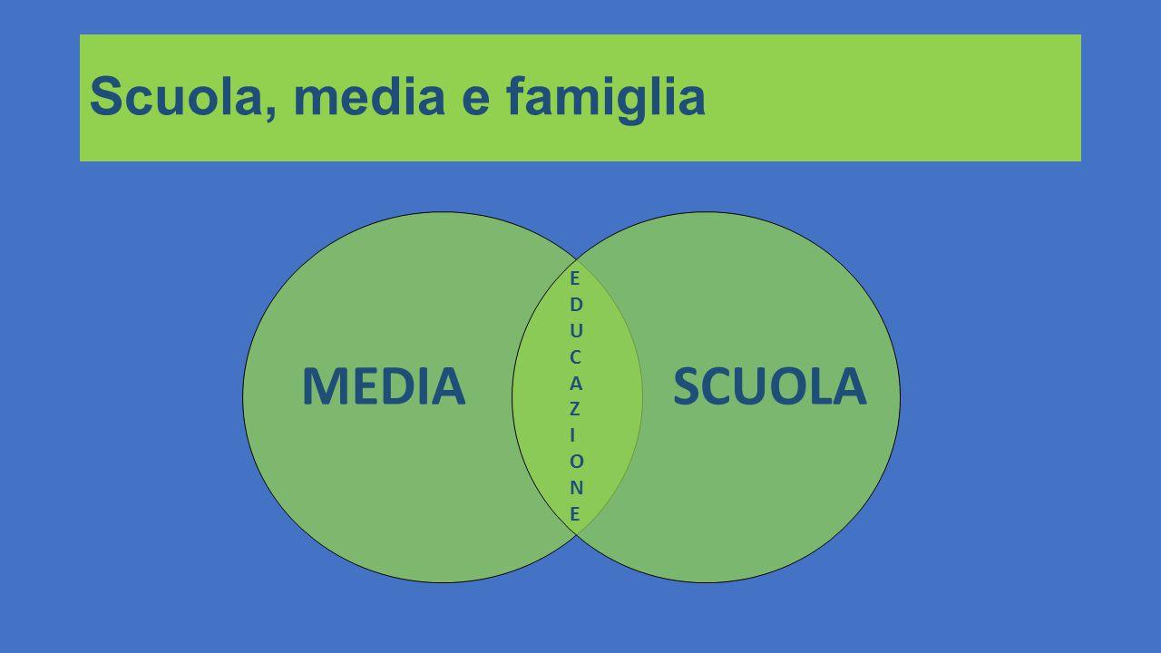 Scuola, media e famiglia MEDIASCUOLA EDUCAZIONEEDUCAZIONE