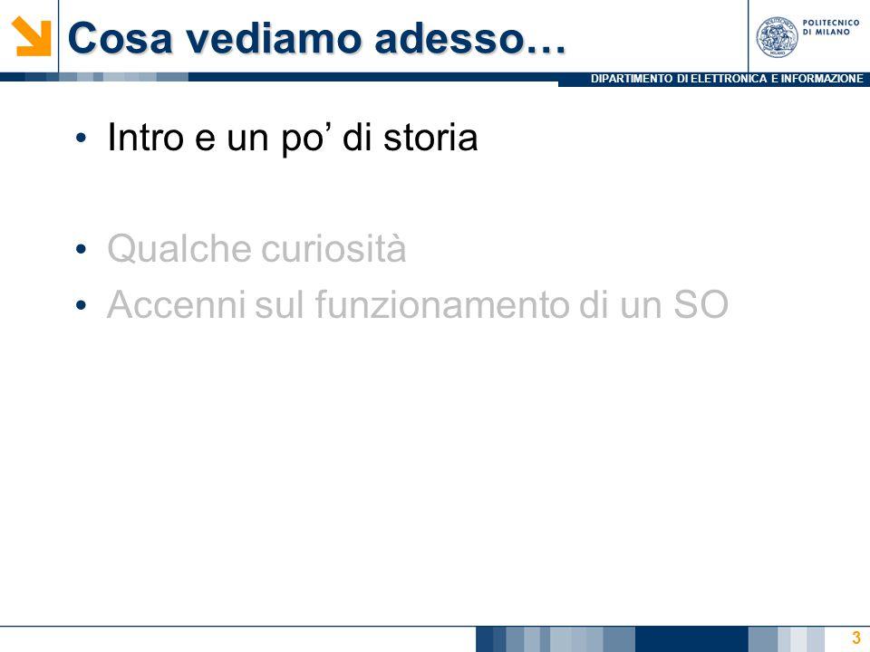 DIPARTIMENTO DI ELETTRONICA E INFORMAZIONEWindows Nov.