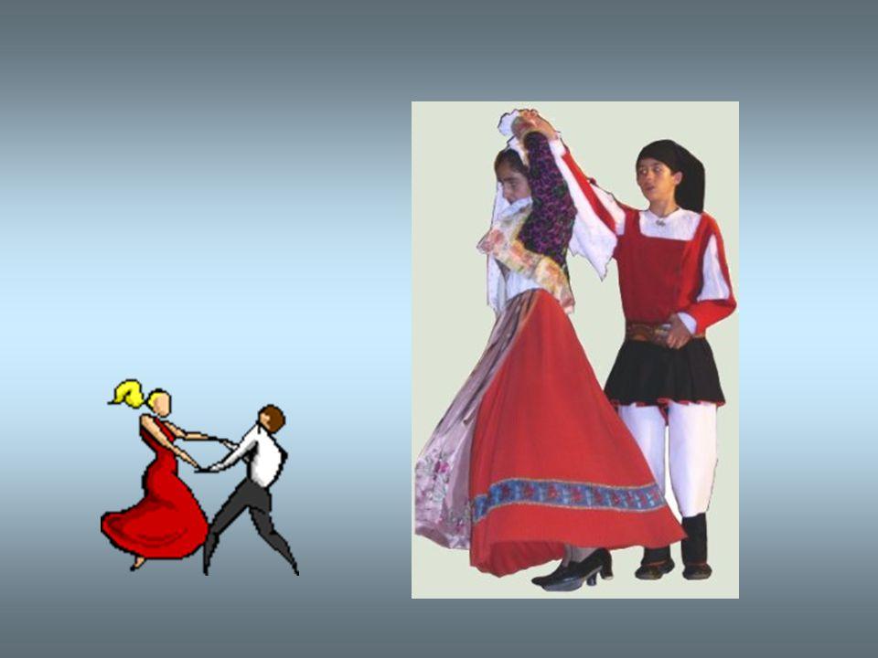 Le danze di corteggiamento si ballano in coppia e talvolta da un uomo accompagnato da due ballerine. I balli rituali presuppongono una partecipazione