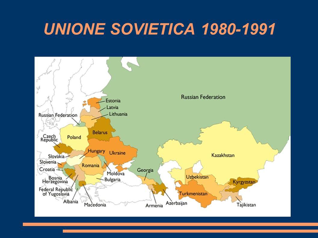 UNIONE SOVIETICA 1980-1991