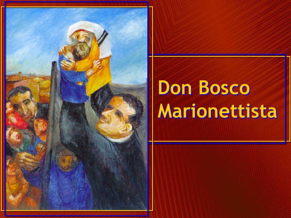 Leggiamo con sguardo meditativo, il quadro su don Bosco che ha realizzato il pittore tedesco Sieger Köder che a intitolato: Don Bosco marionettista.