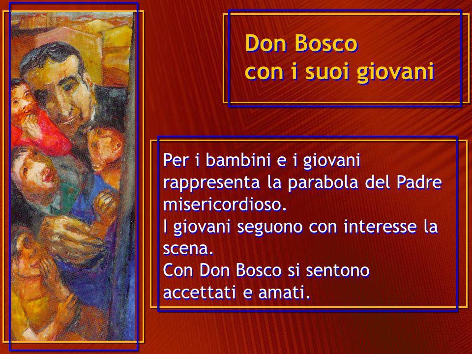 Don Bosco va in cerca dei ragazzi, là dove si trovano.