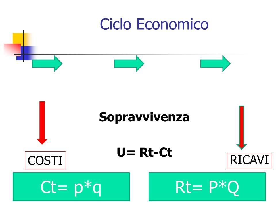 Ciclo Finanziario Sopravvivenza USCITE < ENTRATE Fornitori Clienti PAGAMENTIRISCOSSIONI