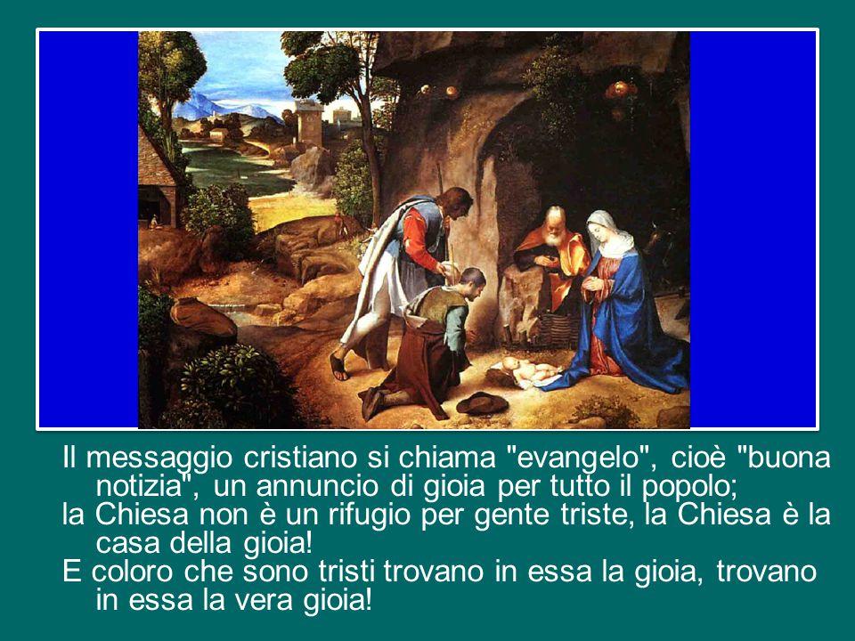 Oggi è la terza domenica di Avvento, detta anche domenica Gaudete, cioè domenica della gioia. Nella liturgia risuona più volte l'invito a gioire, a ra