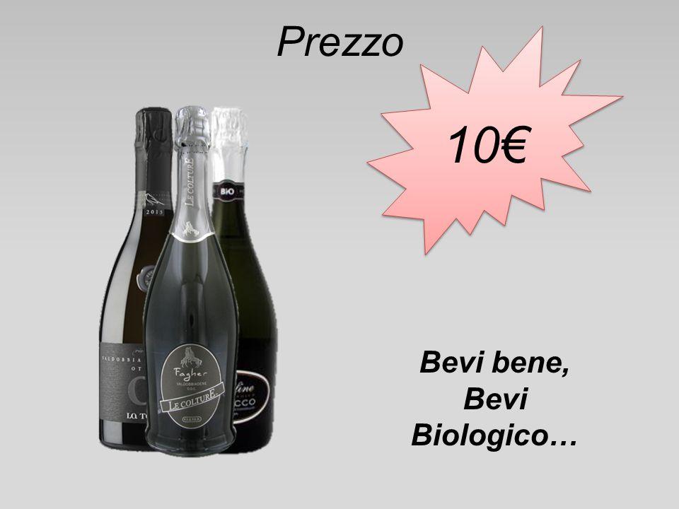 Prezzo 10€ Bevi bene, Bevi Biologico…