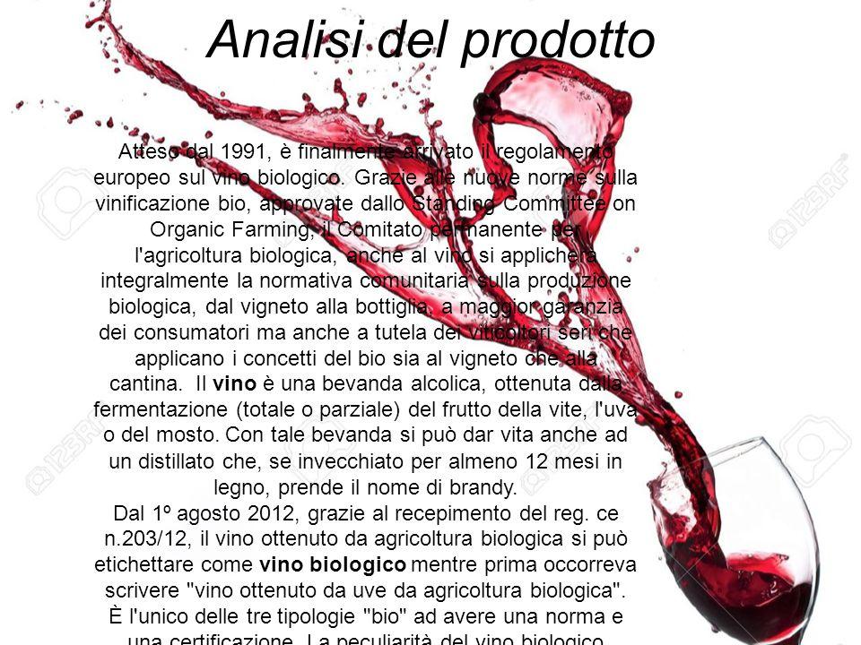 Analisi del prodotto Atteso dal 1991, è finalmente arrivato il regolamento europeo sul vino biologico. Grazie alle nuove norme sulla vinificazione bio