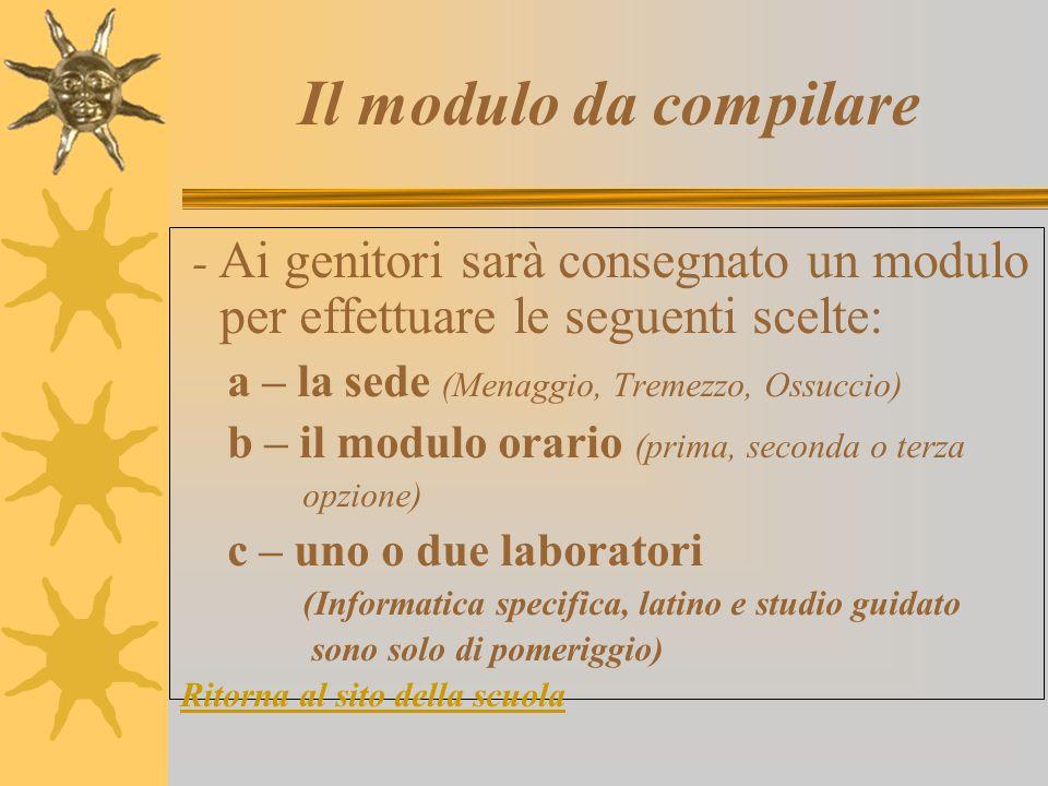 Formazione delle classi  Procedura: 1 – Sarà creata una Commissione formata da almeno 3 insegnanti e un genitore del Consiglio d'Istituto. 2 – La Com