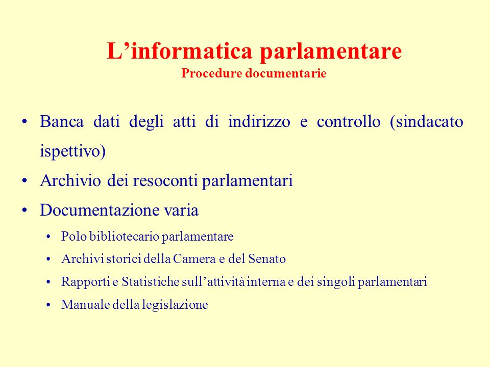 La produzione normativa Attività legislativa Attività regolamentare degli Enti locali Attività delle Autorità di garanzia