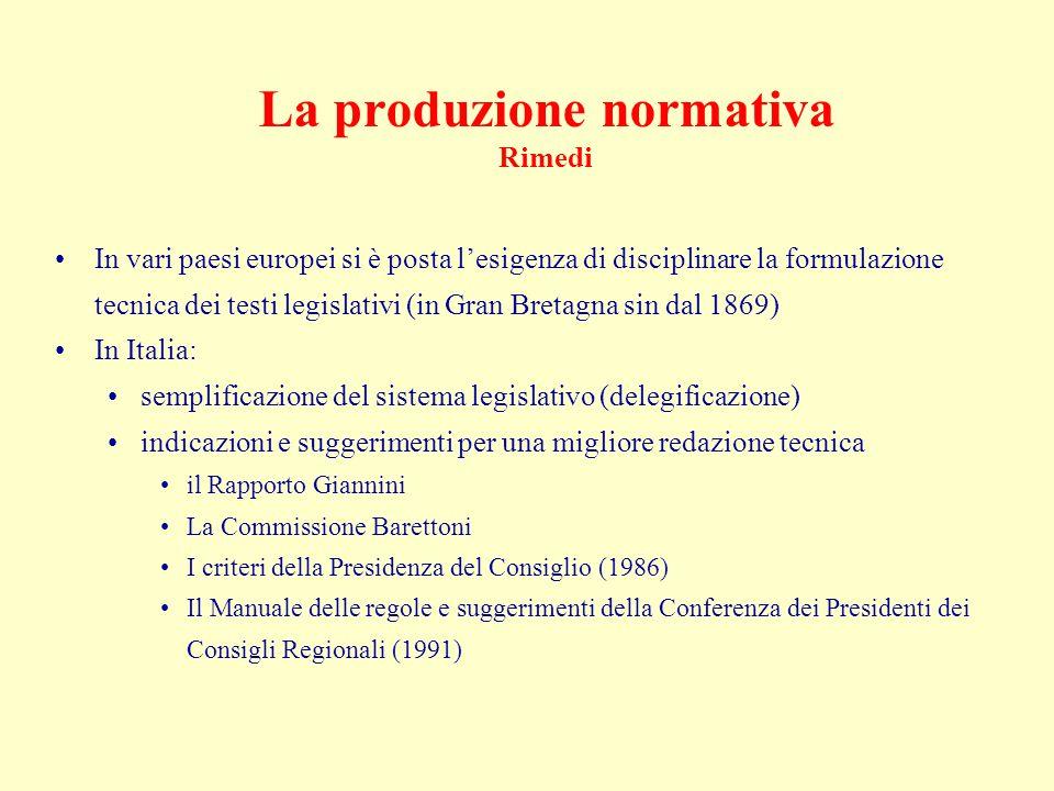 Legimatica La legimatica può offrire supporti anche: al reperimento dei testi normativi al coordinamento dei testi normativi