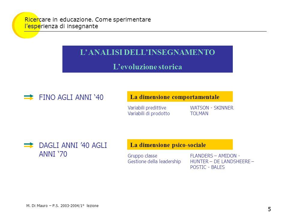 26 La riforma in Italia Il modello di sistema scolastico previsto dalla L.