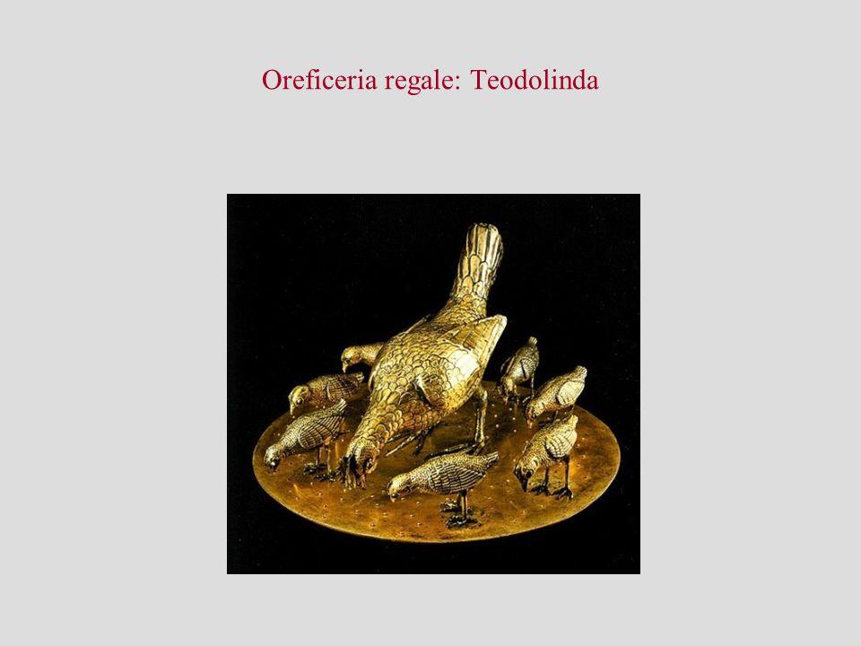 Oreficeria regale: Teodolinda