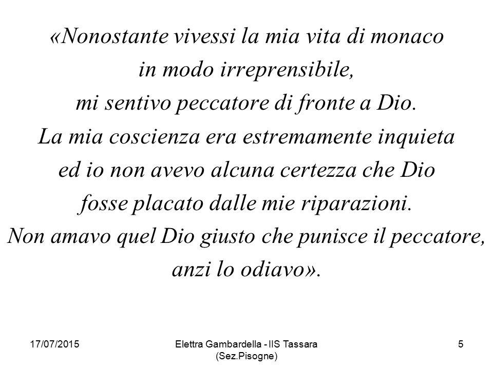 17/07/2015Elettra Gambardella - IIS Tassara (Sez.Pisogne) 26