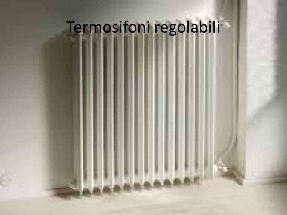 Termosifoni regolabili