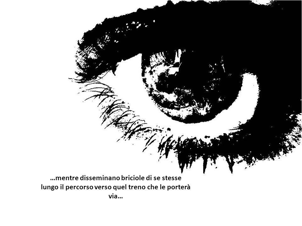 …mentre urlano la loro rabbia contro vetri tremolanti di una casa diventata prigione…