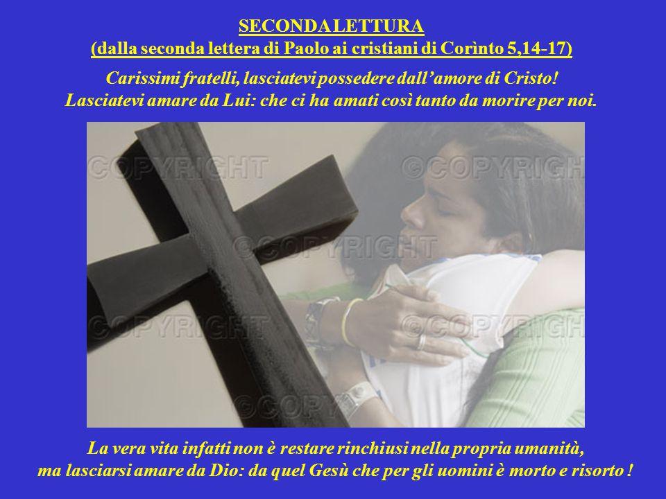 Ma se nella disperazione chiedono aiuto al Signore, Lui pone fine a tutte le loro angosce.