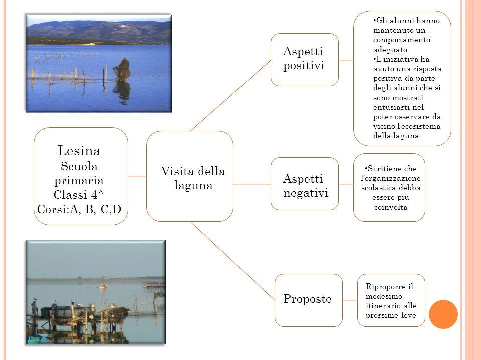 Vi Le Murge Classi 1^ Corsi: A, B, C, D, E, F, G, H Visita alle grotte di Castellana e alla città di Alberobello Aspetti positivi Aspetti negativi I r