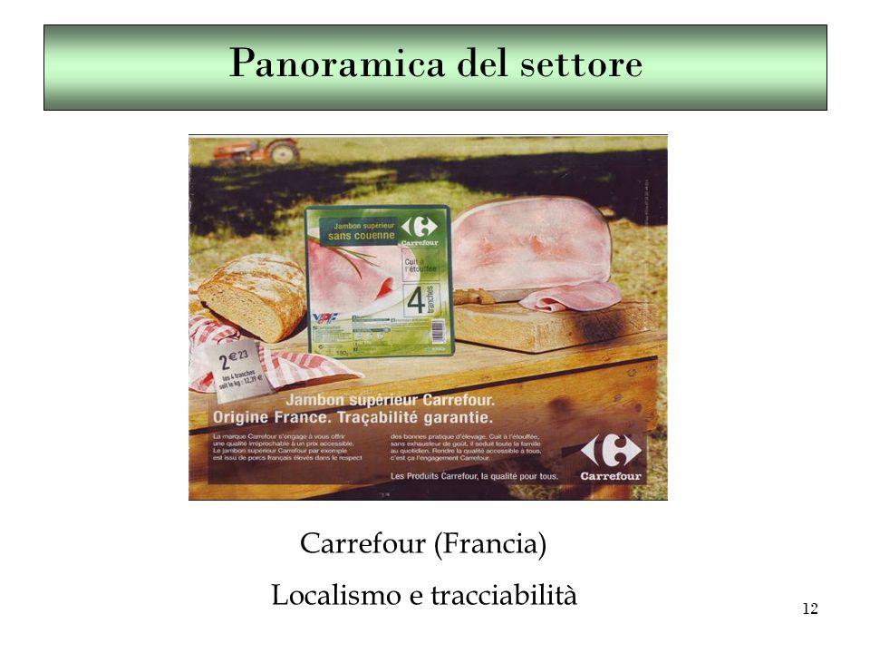 12 Carrefour (Francia) Localismo e tracciabilità Panoramica del settore