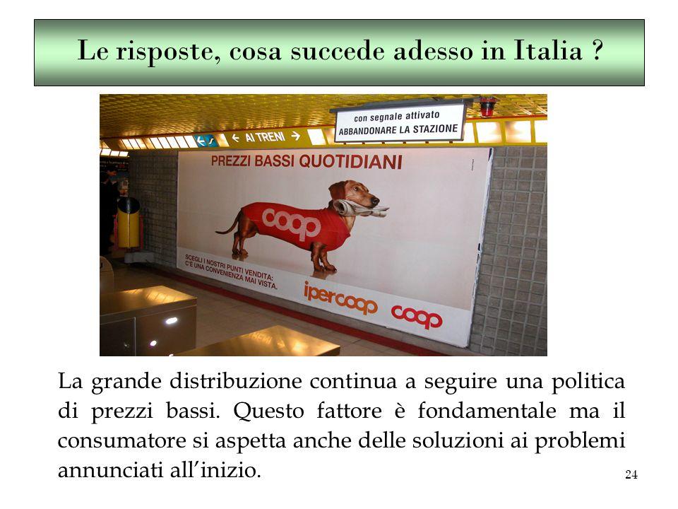 24 Le risposte, cosa succede adesso in Italia .
