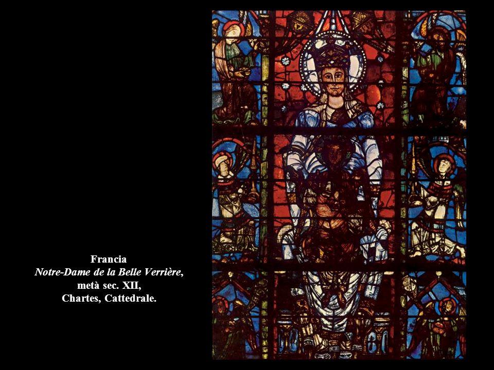 Francia Crocifissione e figure bibliche, (1150), Châlons-sur-Marne, Cattedrale.