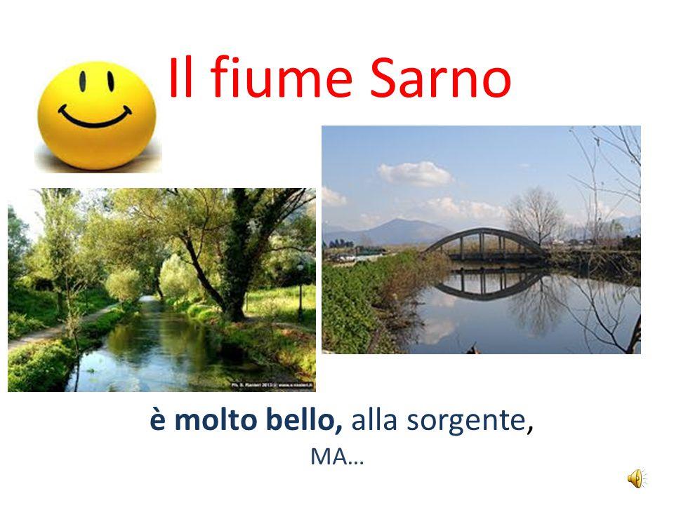 Il fiume Sarno è molto bello, alla sorgente, MA…