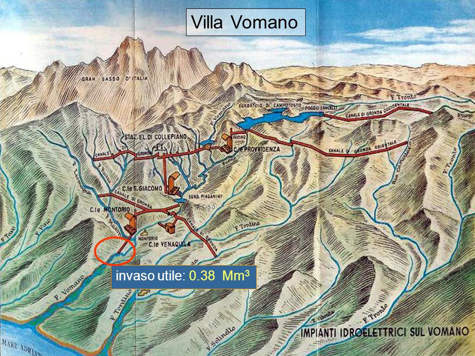 17 Villa Vomano invaso utile: 0.38 Mm 3